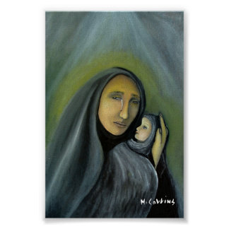 Surreal Oil Painting Tears Of Joy Poster