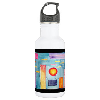 Surreal Painting original art Stainless Steel Water Bottle