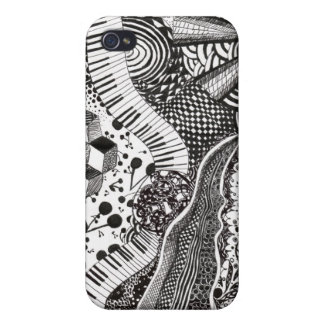 Surreal Pattern iPhone 4/4S Cases