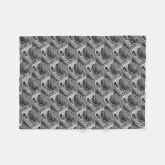 Surreal Pattern Small Fleece Blanket