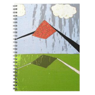Surreal Prism notebook
