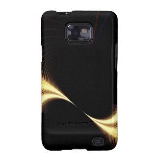 Surreal Purple Fractal Vortex Samsung Galaxy S2 Case