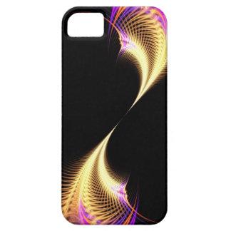 Surreal Purple Fractal Vortex iPhone 5 Cases