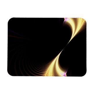 Surreal Purple Fractal Vortex Magnet