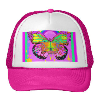 Surreal Rainbow Butterfly Art Kid Gifts by Sharles Trucker Hat