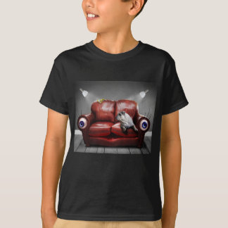 Surreal Red Couch Alive T-Shirt