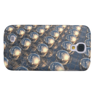 Surreal Reflecting 3D Metal Spheres Samsung Galaxy S4 Case