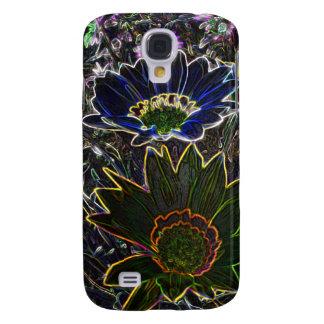 Surreal Rockery Flowers HTC Vivid C-M Tough™ Case Galaxy S4 Cover