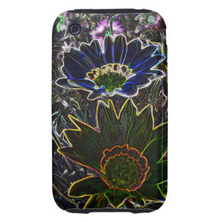 Surreal Rockery Flowers iPhone 3G/3GS C-M T™ Case Tough iPhone 3 Covers