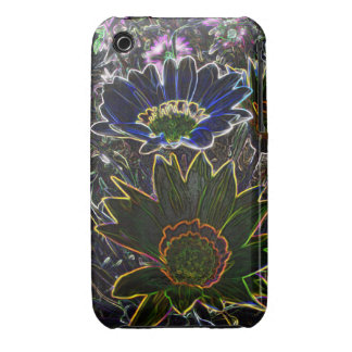Surreal Rockery Flowers iPhone 3G/3GS CM B T™ Case iPhone 3 Case-Mate Cases