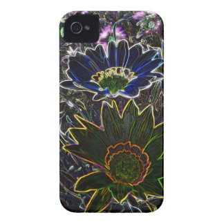 Surreal Rockery Flowers iPhone 4/4S C-M B T™ Case iPhone 4 Case-Mate Cases