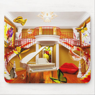 Surreal Rooms Mouse Pad