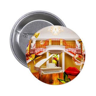 Surreal Rooms Pin