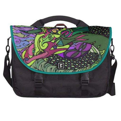 Surreal Serpent Laptop Computer Bag