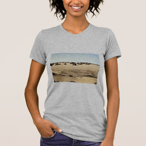 Surreal shapes in sandstone with Land Rover, Alger Shirts