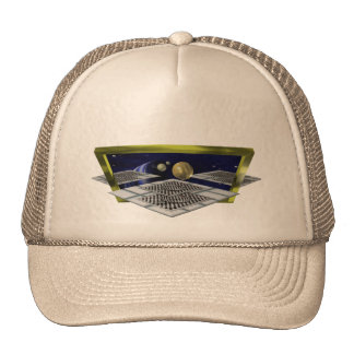 Surreal Space T-Shirt Trucker Hat