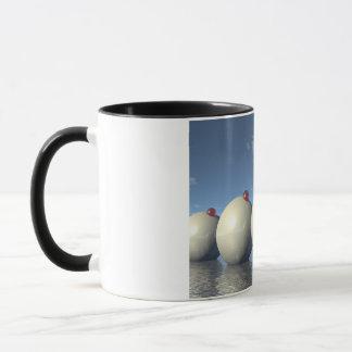 Surreal Spheres Structure Mug