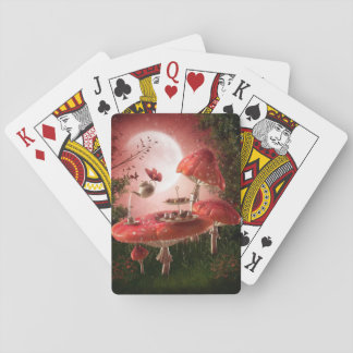 Surreal Tea Party Playing Cards