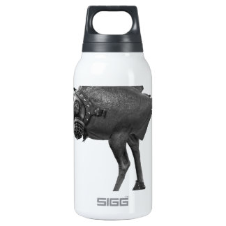 surreal thermos water bottle