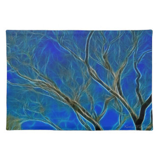 Surreal Tree Cloth Place Mat
