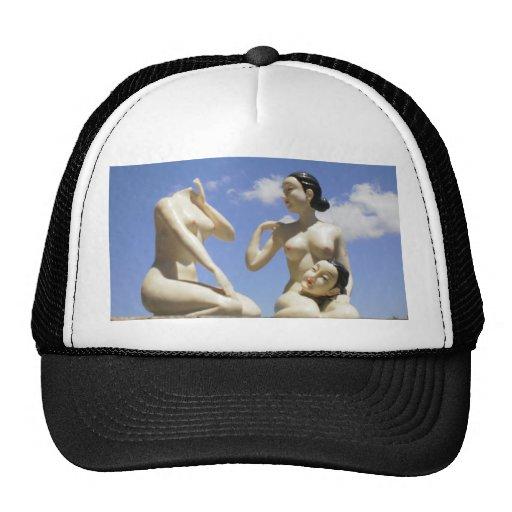 surreal trucker mesh hats