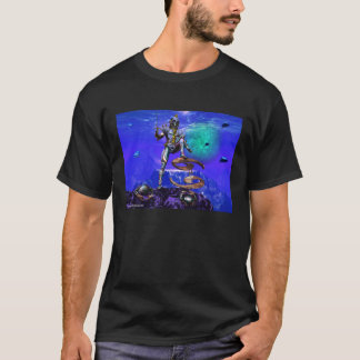 SURREAL UNDERSEA / Cancer Zodiac Birthday Sign T-Shirt