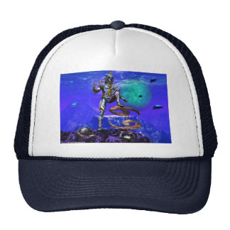 SURREAL UNDERSEA / Cancer Zodiac Birthday Sign Trucker Hat