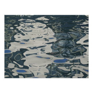 Surreal Water Photo Poster