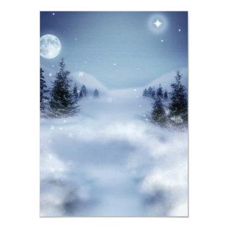 Surreal Winter Card
