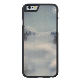 Surreal Winter Carved Maple iPhone 6 Case