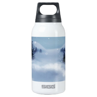Surreal Winter Insulated Water Bottle