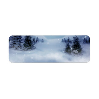 Surreal Winter Label