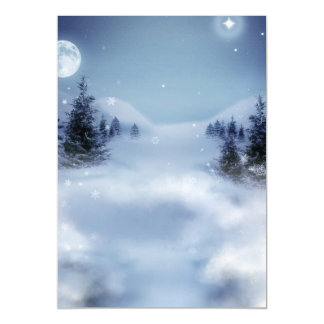 Surreal Winter Magnetic Card