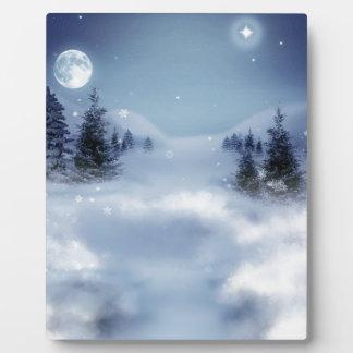 Surreal Winter Plaque