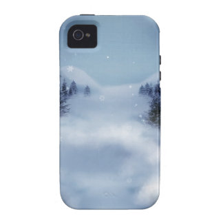 Surreal Winter Vibe iPhone 4 Covers