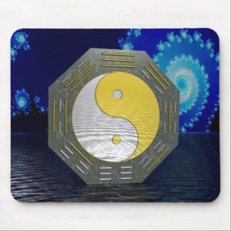 Surreal YinYang with Fractal Mouse Pad