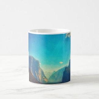 Surreal Yosemite El Capitan and Half Dome Mug