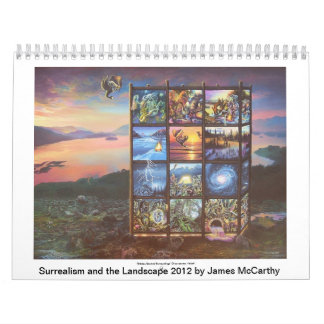 Surrealism and the Landscape 2012 by James McCarth Calendar