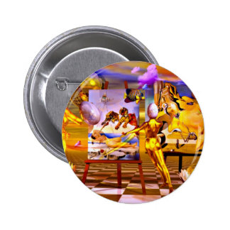 Surrealism by Lenny 2 Inch Round Button