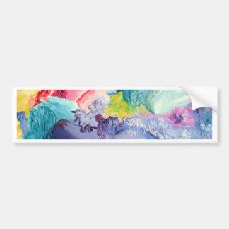Surrealism Color Car Bumper Sticker