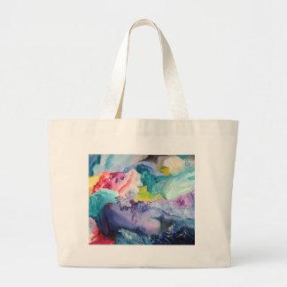 Surrealism Color Large Tote Bag