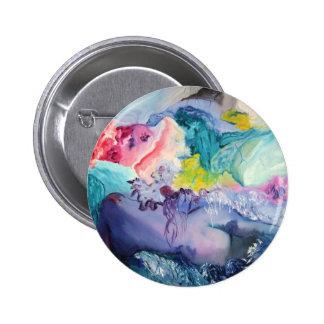 Surrealism Color Pinback Button