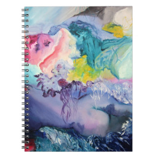 Surrealism Colorful Notebook