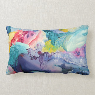 Surrealism Colorful Pillow