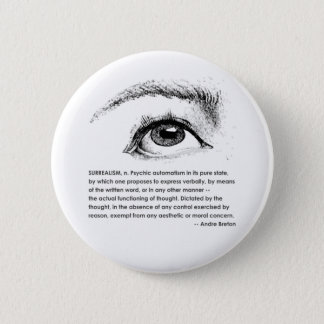 Surrealism Defined Button