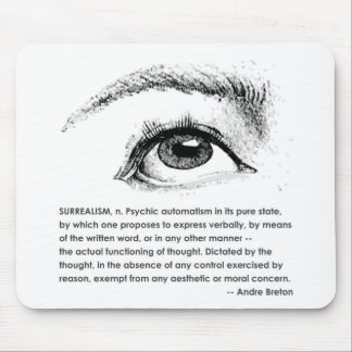 Surrealism Defined Mouse Pad