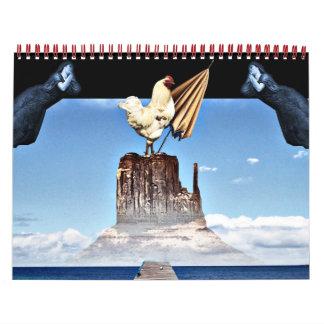 Surrealismo Calendarios De Pared