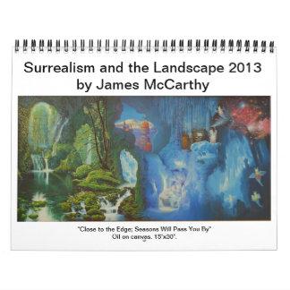 Surrealismo y el paisaje 2013-James McCarthy Calendario De Pared