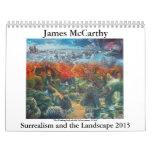 Surrealismo y el paisaje 2015 de James McCarthy- Calendarios De Pared