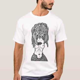 Surrealist Flower Portrait T-Shirt
